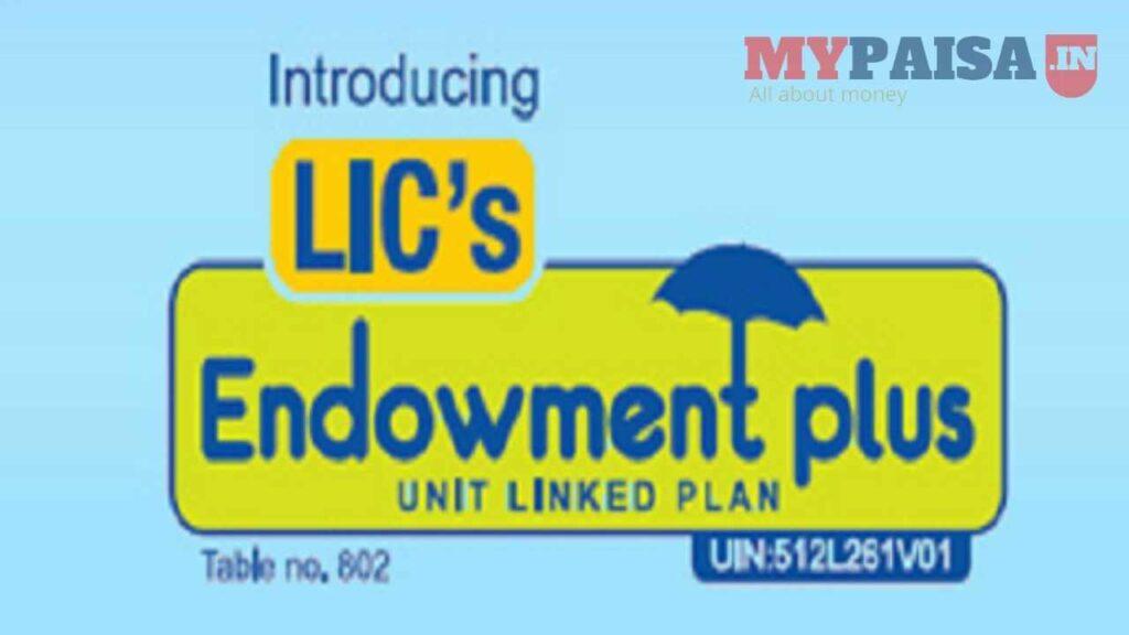 LIC Endowment Plus